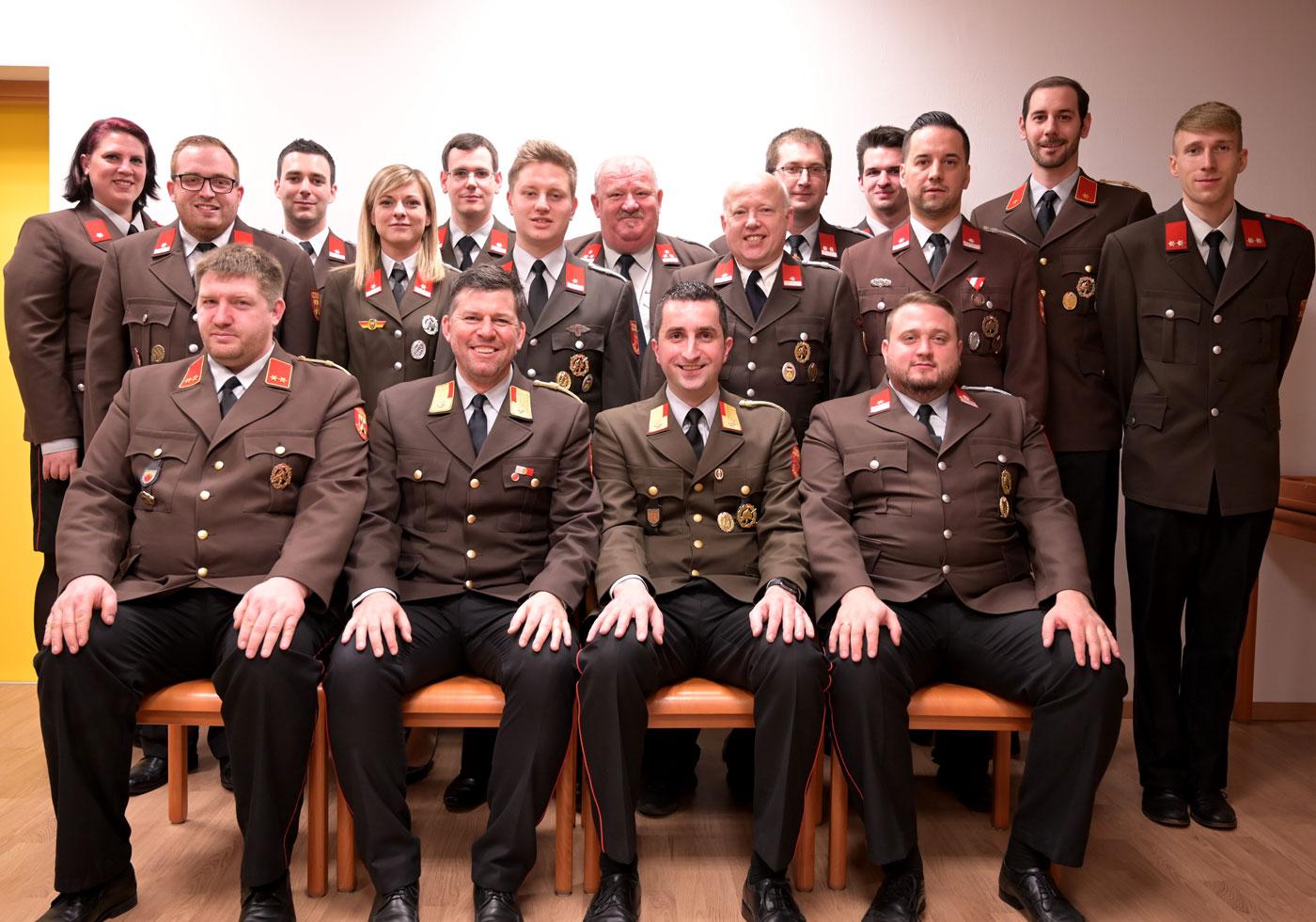 Gruppenfoto erweitertes Kommando